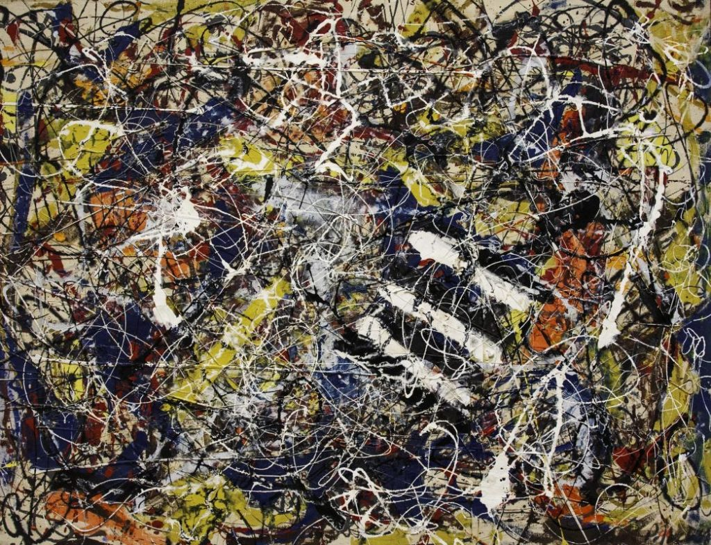 Jackson Pollock – Number 17A  Top 5 most expensive art pieces Jackson Pollock     Number 17A 1024x785